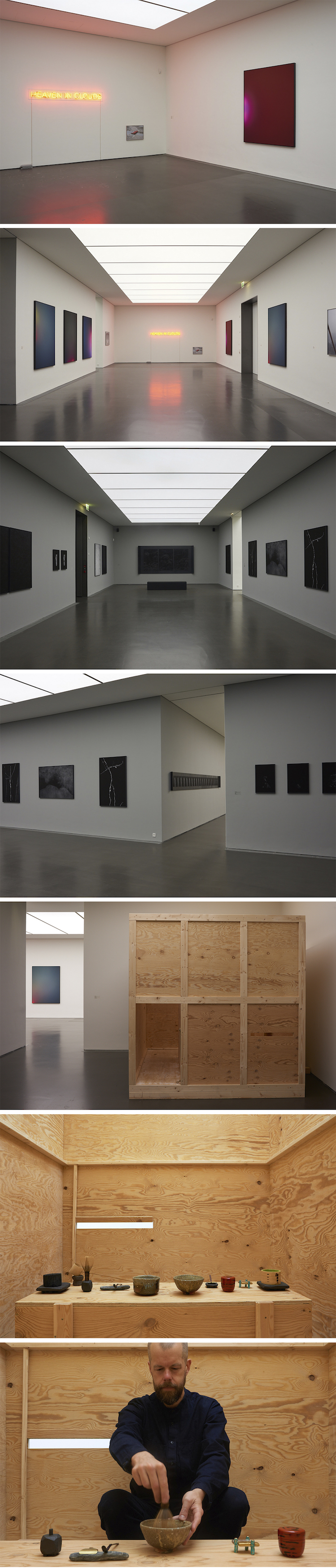 Installation views Kunstmuseum Stuttgart, Kubus. Sparda Art Award